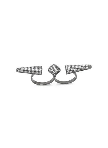 Bendis Design Uzay Yüzük Gümüş